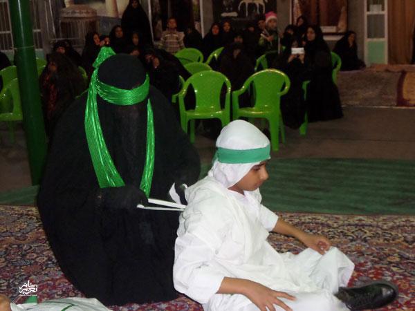 گروه تعزیه ابالفضل  (ع) شهر گلباف