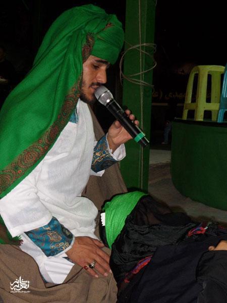 گروه تعزیه سیدالشهدا محی آباد