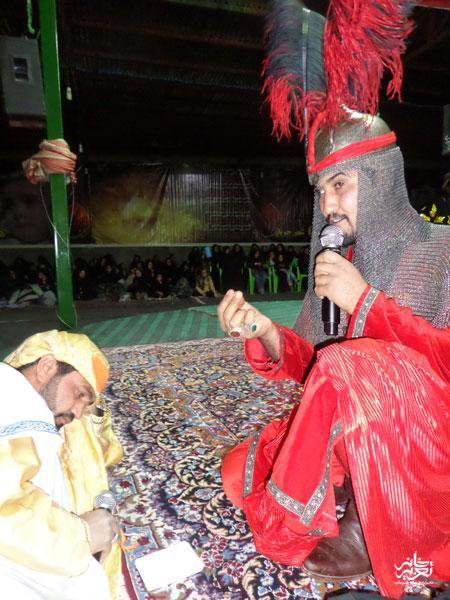 گروه تعزیه علی اکبر چترود